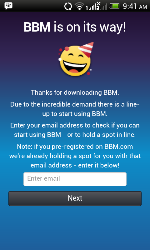 BBM is on it's Way