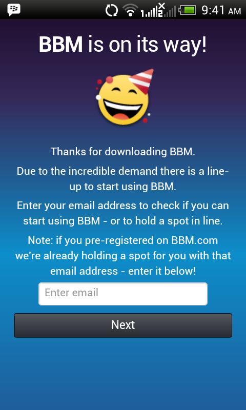 BBM is on it's Way